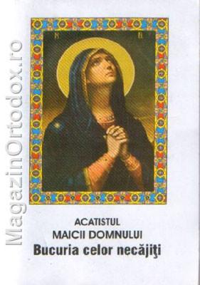 Acatistul Maicii Domnului - Bucuria celor necajiti