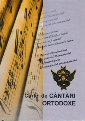 Carte de Cantari Ortodoxe-scris mare