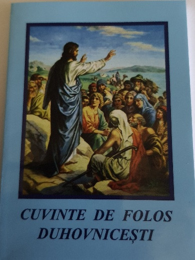 CUVINTE DE FOLOS DUHOVNICESTI