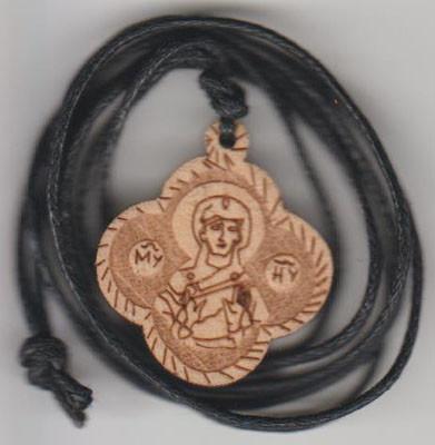 Medalion Maica Domnului cu ata-2,5x2,5