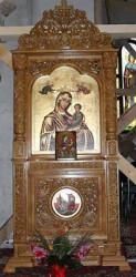 Axionita pentru Biserica- lemn uscat