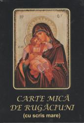 Carte de rugaciune mica cu scris mare(cartonata)