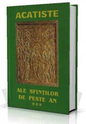 Acatiste ale Sfintilor de peste An - Vol III