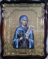 Icoana aurita Sfanta Parascheva