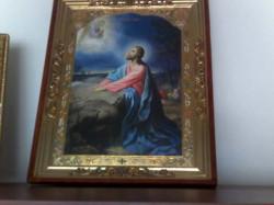 Domnul nostru Iisus Hristos in Gradina Ghetimani