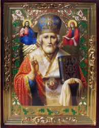 Icoana Sfantul Nicolae, mare pentru biserica