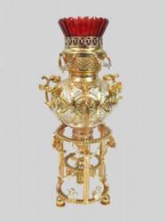 Candela pentru Altar - argint placat cu aur