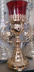 Candela suflata cu aur pentru altar