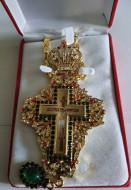 Cruce pectorala aurita
