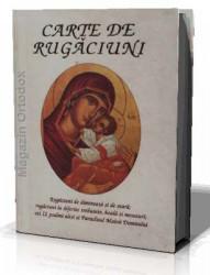 Carte de rugaciuni copertata cu scris mare