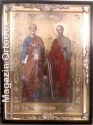 Icoana imparateasca Sfintii Apostoli Petru si Pavel