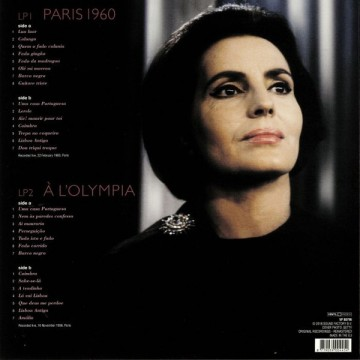 Amália Rodrigues – албум Paris 1960 / À L'Olympia