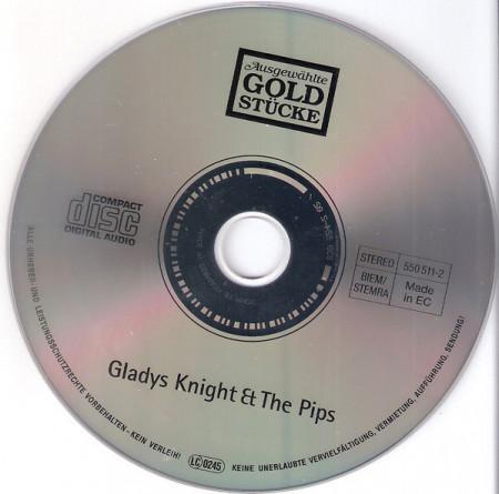 Gladys Knight And The Pips – албум Ausgewählte Goldstücke (CD)