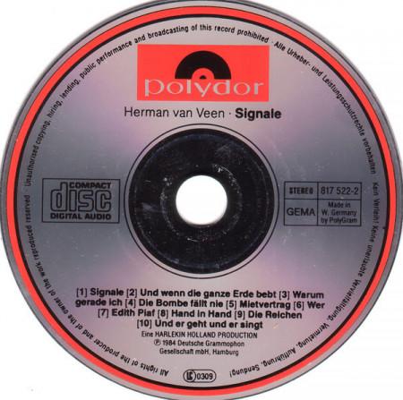 Herman van Veen – албум Signale (CD)