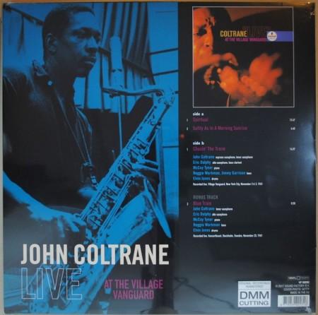 John Coltrane – албум Live At The Village Vanguard