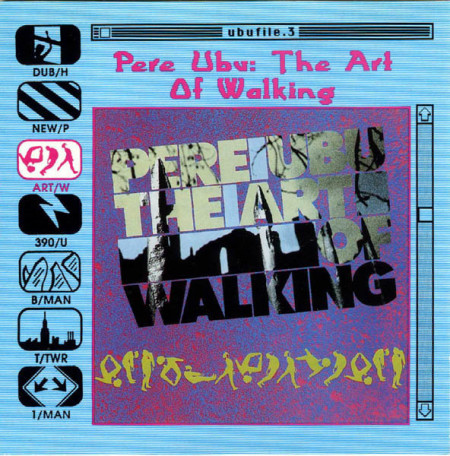 Pere Ubu ‎– албум The Art Of Walking (CD)