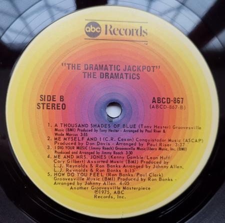 Ron Banks And The Dramatics – албум The Dramatic Jackpot