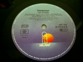 Thinkman – албум The Formula