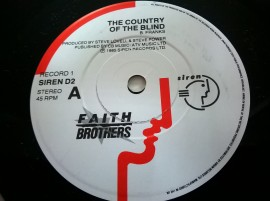 Faith Brothers – сингъл The Country Of The Blind
