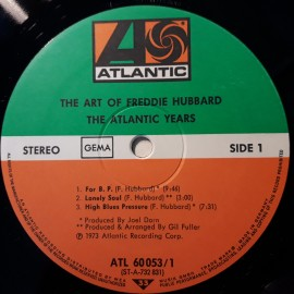 Freddie Hubbard ‎– албум The Art Of Freddie Hubbard - The Atlantic Years изображения