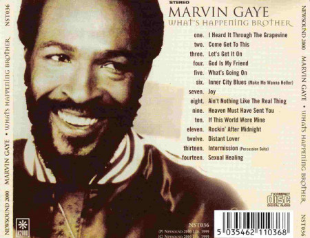 Marvin Gaye – албум What's Happening Brother (CD)