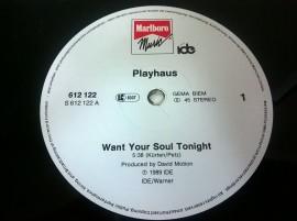 Playhaus – сингъл Want Your Soul Tonight