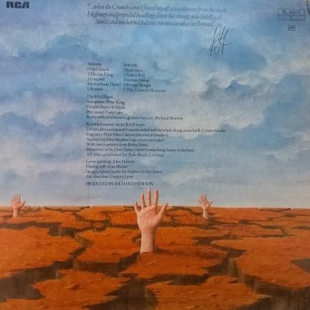 RAH Band – албум The Crunch & Beyond