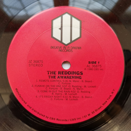 The Reddings ‎– албум The Awakening