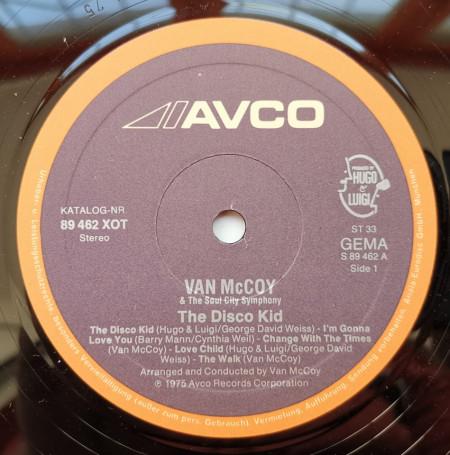 Van McCoy – албум The Disco Kid