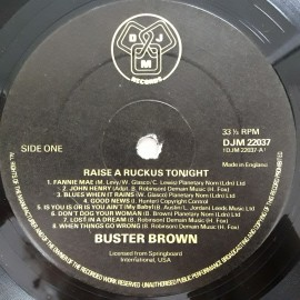 Buster Brown ‎– албум Raise A Ruckus Tonight