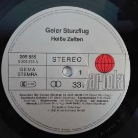 Geier Sturzflug – албум Heiße Zeiten...