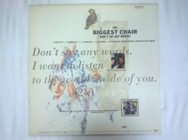 Georgie Red – сингъл The Biggest Chair (Don't Say Any Words)