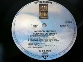 Jackson Browne – албум Running On Empty