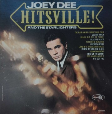 Joey Dee And The Starlighters ‎– албум Hitsville! изображения