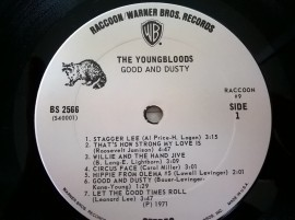 The Youngbloods ‎– албум Good And Dusty изображения
