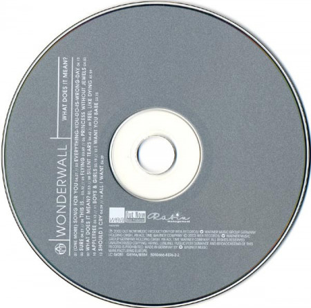Wonderwall – албум What Does It Mean? (CD)