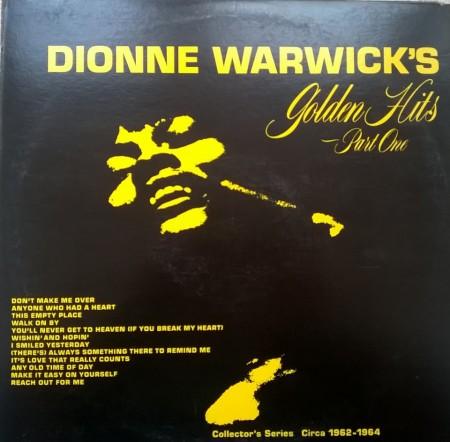 Dionne Warwick – албум Golden Hits - Part One