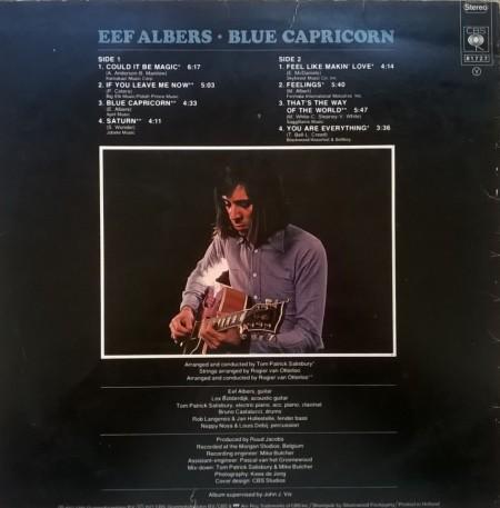 Eef Albers – албум Blue Capricorn
