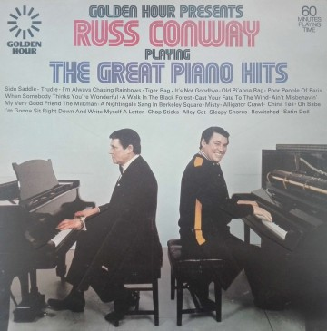 Russ Conway – албум Golden Hour Presents Russ Conway Playing The Great Piano Hits