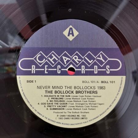 The Bollock Brothers – албум Never Mind The Bollocks 1983