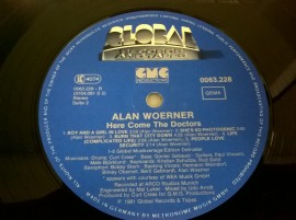 Alan Woerner – албум Here Comes The Doctors