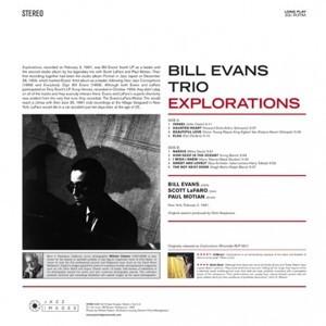 Bill Evans Trio – албум Explorations