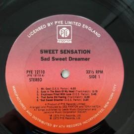 Sweet Sensation  – албум Sad Sweet Dreamer