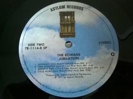The Rowans – албум Jubilation