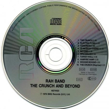 RAH Band – албум The Crunch & Beyond (CD)