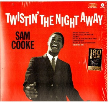 Sam Cooke ‎– албум Twistin' The Night Away изображения