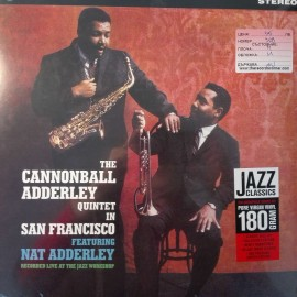 The Cannonball Adderley Quintet ‎– албум In San Francisco изображения
