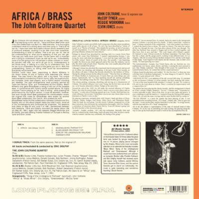 The John Coltrane Quartet ‎– албум Africa / Brass