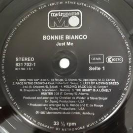 Bonnie Bianco – албум Just Me
