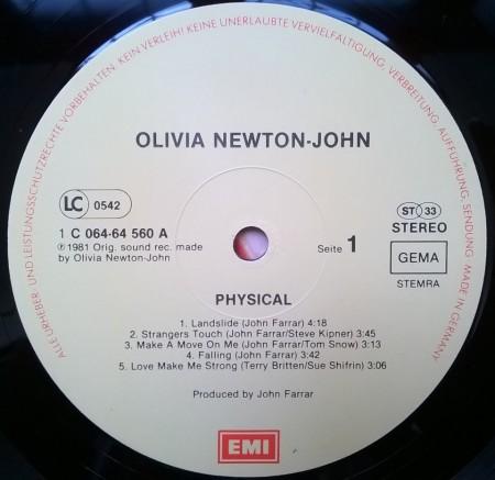 Olivia Newton-John – албум Physical